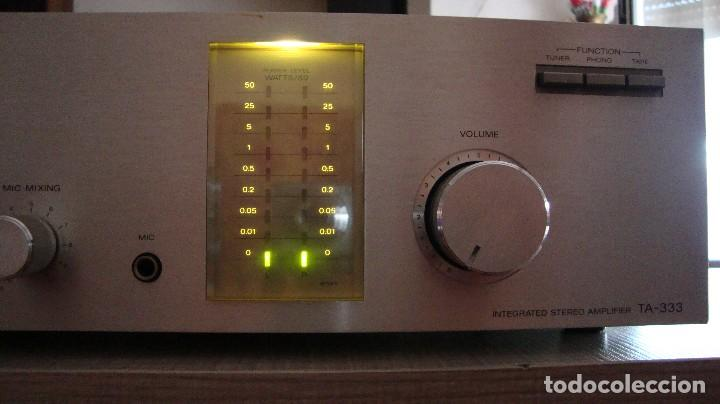 Radios antiguas: AMPLIFICADOR SONY - Foto 3 - 128910207