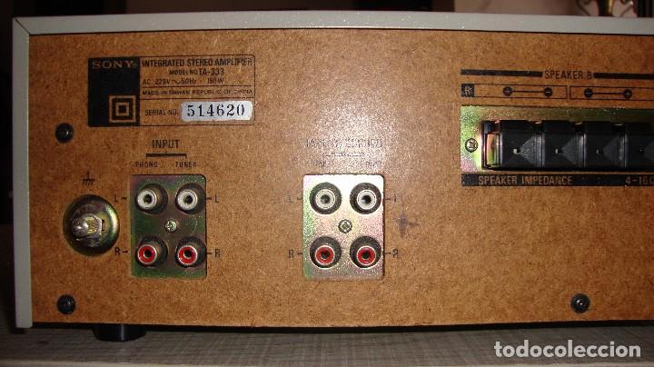 Radios antiguas: AMPLIFICADOR SONY - Foto 4 - 128910207