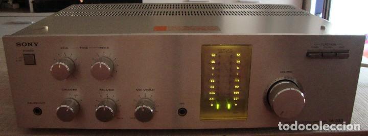 Radios antiguas: AMPLIFICADOR SONY - Foto 6 - 128910207