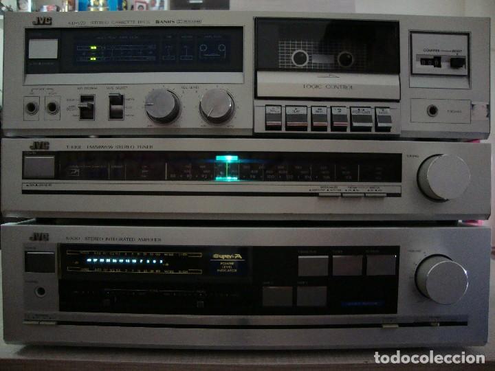 Radios antiguas: AMPLIFICADOR JVC - Foto 3 - 128911147