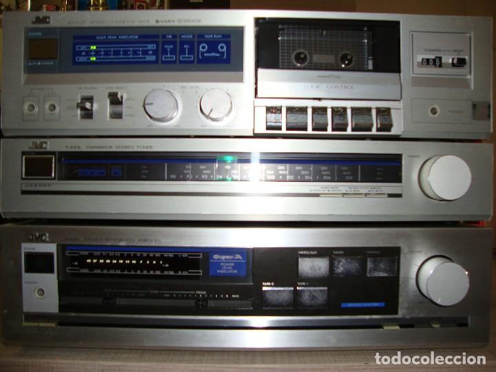 AMPLIFICADOR JVC (Radios, Gramófonos, Grabadoras y Otros - Amplificadores y Micrófonos de Válvulas)