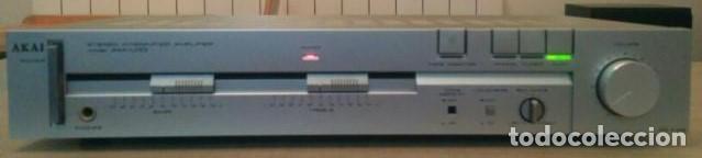 AMPLIFICADOR AKAI (Radios, Gramófonos, Grabadoras y Otros - Amplificadores y Micrófonos de Válvulas)
