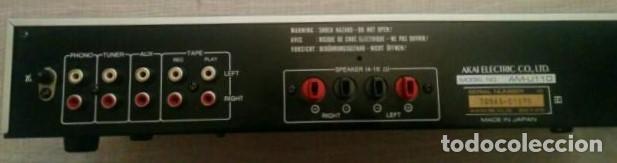 Radios antiguas: AMPLIFICADOR AKAI - Foto 3 - 128916859