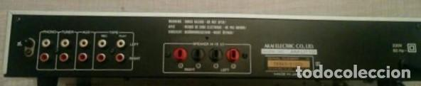 Radios antiguas: AMPLIFICADOR AKAI - Foto 4 - 128916859