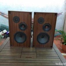 Radios antiguas: ALTAVOCES PHILIPS MINIWATT DE 3 VIAS - FUNCIONAN PERFECTAMENTE_VINTAGE_. Lote 131844522