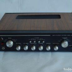 Radios antiguas: AMPLIFICADOR MARCA CASA (CONSTRUCCIONES AERONÁUTICAS S. A.). Nº SERIE 9. SIN PROBAR.. Lote 132260215