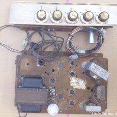 Radios antiguas: AMPLIFICADOR VÁLVULAS ETAPA FINAL HS767 + PREVIO HS781 - MOTOROLA - LEER ANUNCIO. Lote 132360318