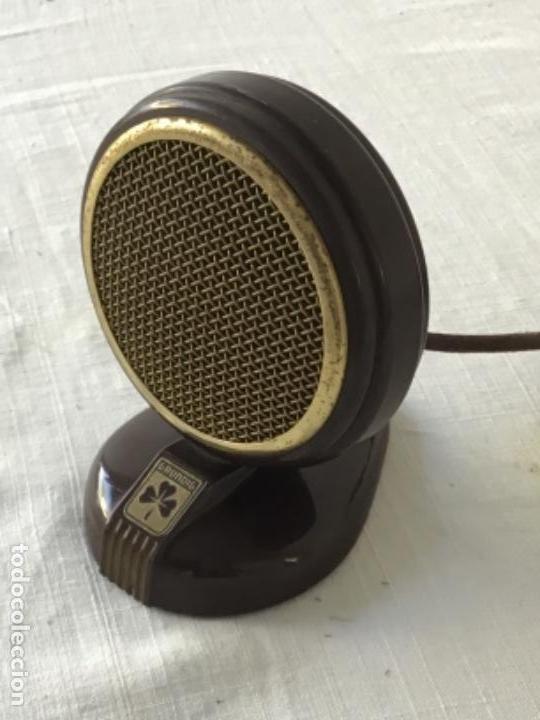 Radios antiguas: MICRÓFONO DE BAQUELITA GRUNDIG 1940'S. VER FOTOS ANEXAS. - Foto 3 - 133285818