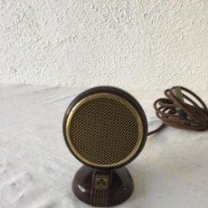 Radios antiguas: MICRÓFONO DE BAQUELITA GRUNDIG 1940'S. VER FOTOS ANEXAS. . Lote 133285818