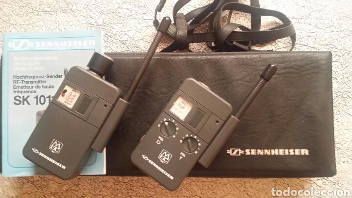 TRANSMISOR SENNHEISER SK 1011 (Radios, Gramófonos, Grabadoras y Otros - Amplificadores y Micrófonos de Válvulas)
