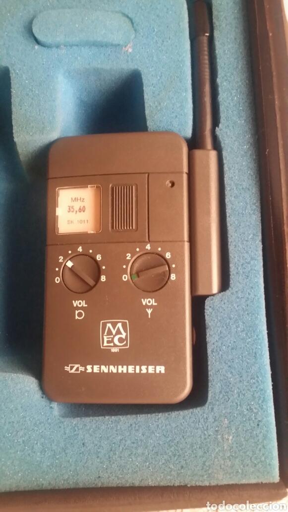 Radios antiguas: Transmisor Sennheiser SK 1011 - Foto 3 - 133649182
