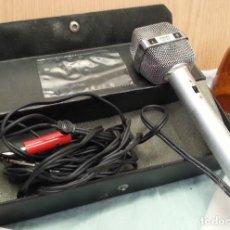 Radios antiguas: MICRÓFONO ANTIGUO AÑOS 70. PHILIPS SBC 469. MARAVILLOSO OBJETO DE COLECCIÓN.. Lote 133718618