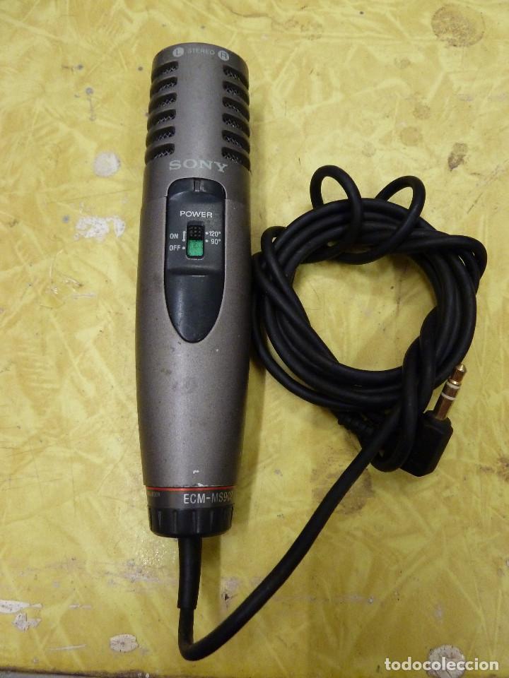 MICROFONO SONY MODELO SM-MS907 (Radios, Gramófonos, Grabadoras y Otros - Amplificadores y Micrófonos de Válvulas)