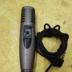 Radios antiguas: MICROFONO SONY MODELO SM-MS907. Lote 133742178