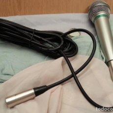 Radios antiguas: MICRÓFONO AÑOS 90. FUNCIONADO. CON SU CABLE ORIGINAL.. Lote 133807034