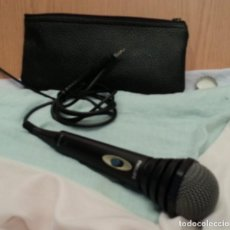 Radios antiguas: MICRÓFONO VINTAGE PHILIPS SBC MOD. 110 AÑOS 80. Lote 133902518