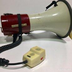 Radios antiguas: ANTIGUO ALTAVOZ MEGAPHONE COMPLETO DE 1970 CON CAJA DE MADERA.. Lote 136516536