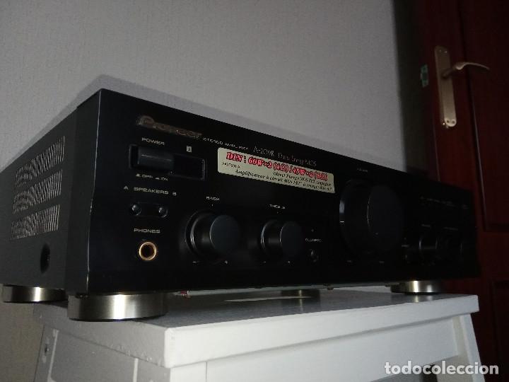 Radios antiguas: GRAN AMPLIFICADOR PIONEER MODEL. A-209R - Direct Energy MOS / MUY BUSCADO / DESCATALOGADO!!! - Foto 2 - 136722698