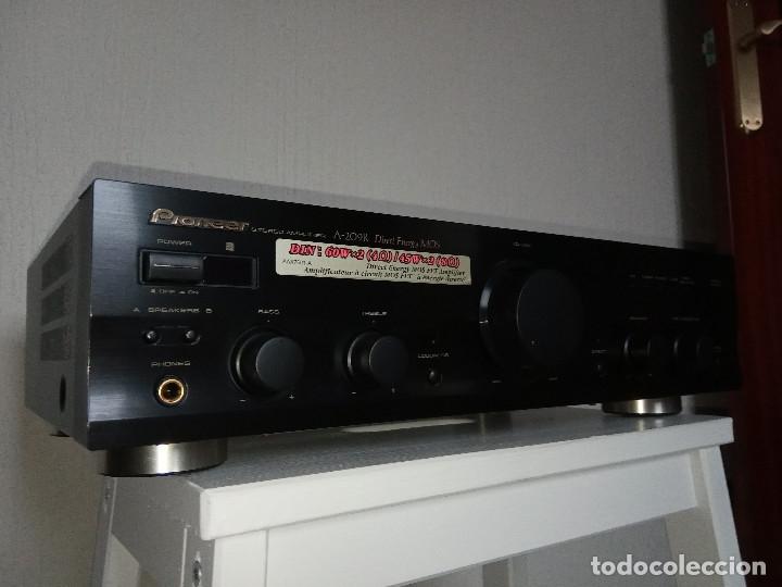 Radios antiguas: GRAN AMPLIFICADOR PIONEER MODEL. A-209R - Direct Energy MOS / MUY BUSCADO / DESCATALOGADO!!! - Foto 3 - 136722698