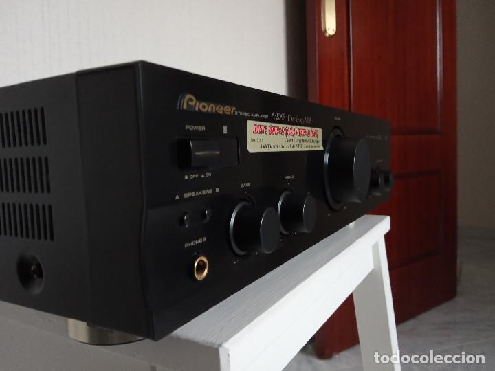 Radios antiguas: GRAN AMPLIFICADOR PIONEER MODEL. A-209R - Direct Energy MOS / MUY BUSCADO / DESCATALOGADO!!! - Foto 5 - 136722698