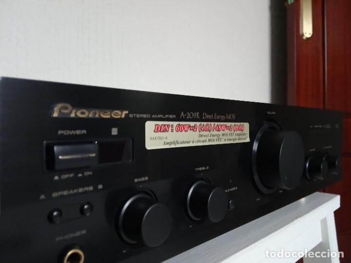 Radios antiguas: GRAN AMPLIFICADOR PIONEER MODEL. A-209R - Direct Energy MOS / MUY BUSCADO / DESCATALOGADO!!! - Foto 6 - 136722698