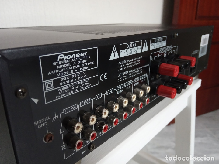 Radios antiguas: GRAN AMPLIFICADOR PIONEER MODEL. A-209R - Direct Energy MOS / MUY BUSCADO / DESCATALOGADO!!! - Foto 8 - 136722698