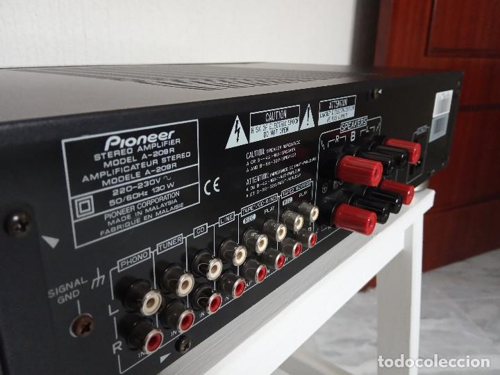 Radios antiguas: GRAN AMPLIFICADOR PIONEER MODEL. A-209R - Direct Energy MOS / MUY BUSCADO / DESCATALOGADO!!! - Foto 9 - 136722698