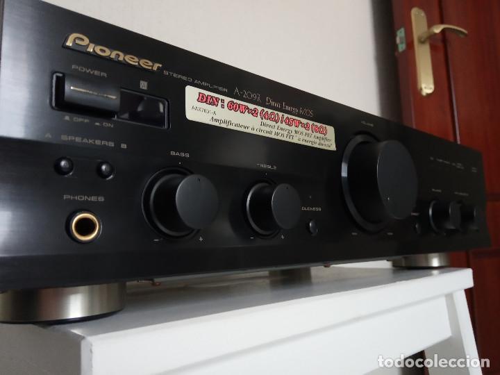 Radios antiguas: GRAN AMPLIFICADOR PIONEER MODEL. A-209R - Direct Energy MOS / MUY BUSCADO / DESCATALOGADO!!! - Foto 14 - 136722698