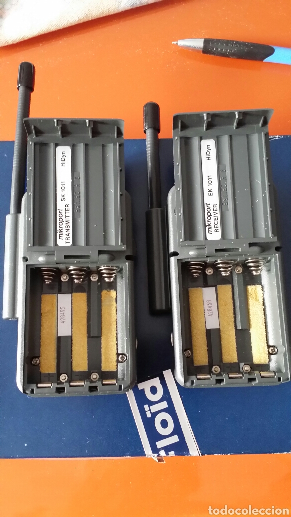 Radios antiguas: Transmisor Sennheiser SK 1011 - Foto 9 - 133649182