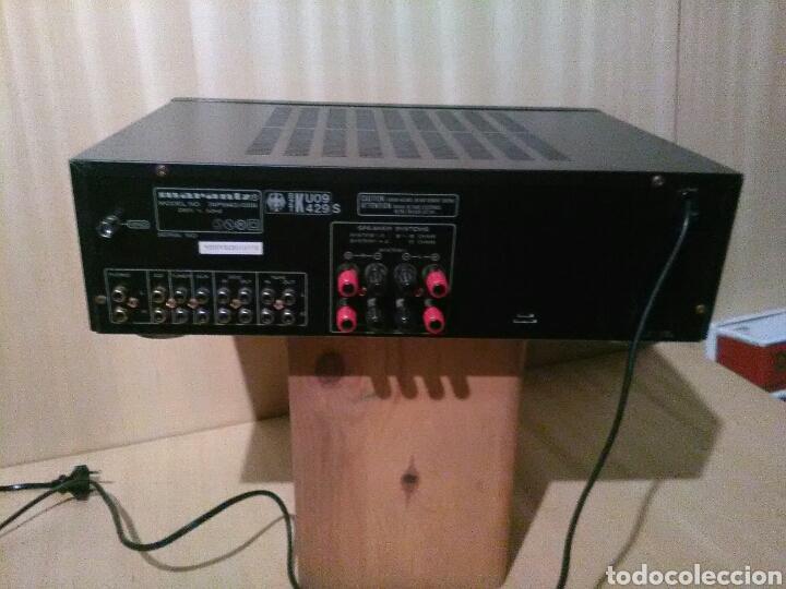Radios antiguas: Amplificador Marantz PM-43 - Foto 2 - 137589625