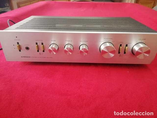 AMPLIFICADOR PIONEER, SA 408 (Radios, Gramófonos, Grabadoras y Otros - Amplificadores y Micrófonos de Válvulas)