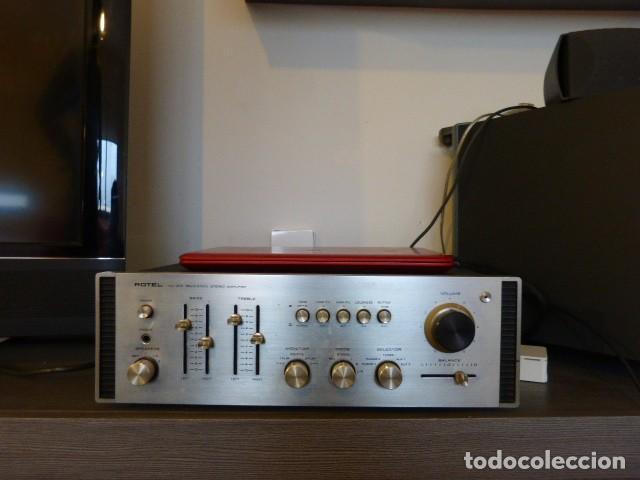 AMPLIFICADOR ANALÓGICO VINTAGE ROTEL RA-810 (Radios, Gramófonos, Grabadoras y Otros - Amplificadores y Micrófonos de Válvulas)