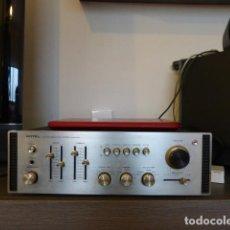 Radios antiguas: AMPLIFICADOR ANALÓGICO VINTAGE ROTEL RA-810. Lote 138630098