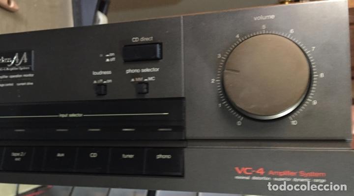 Radios antiguas: AMPLIFICADOR TECHNICS SU - V55A - FUNCIONA ( VER MÁS DETALLES.) - Foto 2 - 138655650