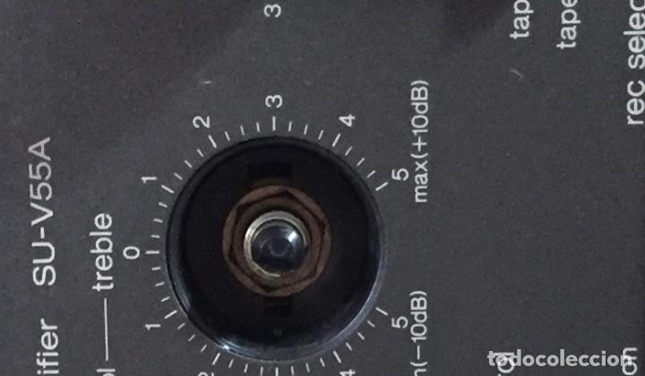 Radios antiguas: AMPLIFICADOR TECHNICS SU - V55A - FUNCIONA ( VER MÁS DETALLES.) - Foto 8 - 138655650
