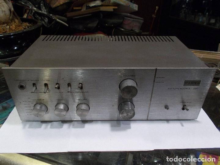 AMPLIFICADOR VIETA AT- 230 (G) (Radios, Gramófonos, Grabadoras y Otros - Amplificadores y Micrófonos de Válvulas)