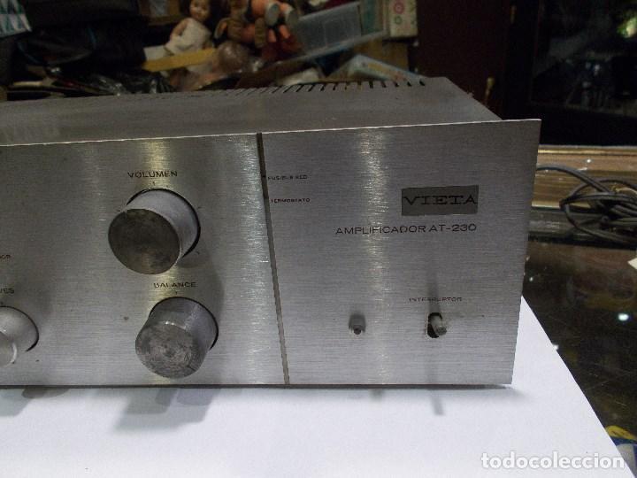Radios antiguas: AMPLIFICADOR VIETA AT- 230 (G) - Foto 4 - 139088606
