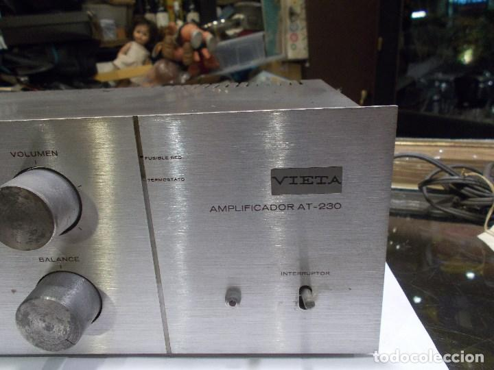 Radios antiguas: AMPLIFICADOR VIETA AT- 230 (G) - Foto 5 - 139088606