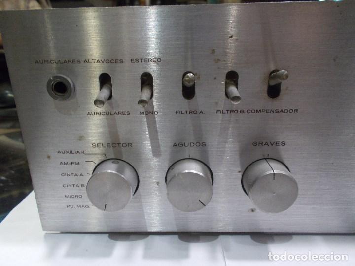 Radios antiguas: AMPLIFICADOR VIETA AT- 230 (G) - Foto 6 - 139088606