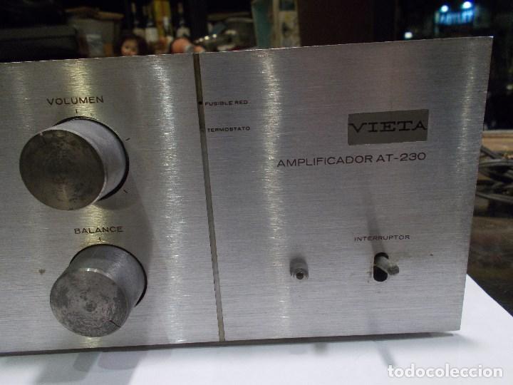Radios antiguas: AMPLIFICADOR VIETA AT- 230 (G) - Foto 8 - 139088606