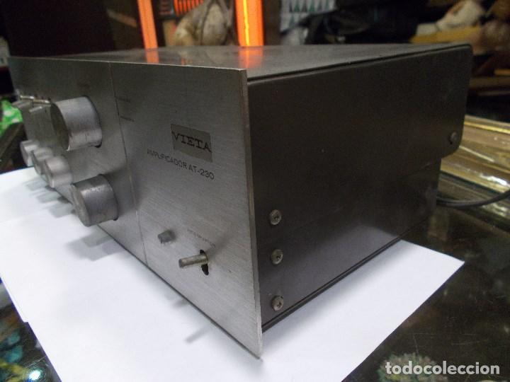 Radios antiguas: AMPLIFICADOR VIETA AT- 230 (G) - Foto 9 - 139088606