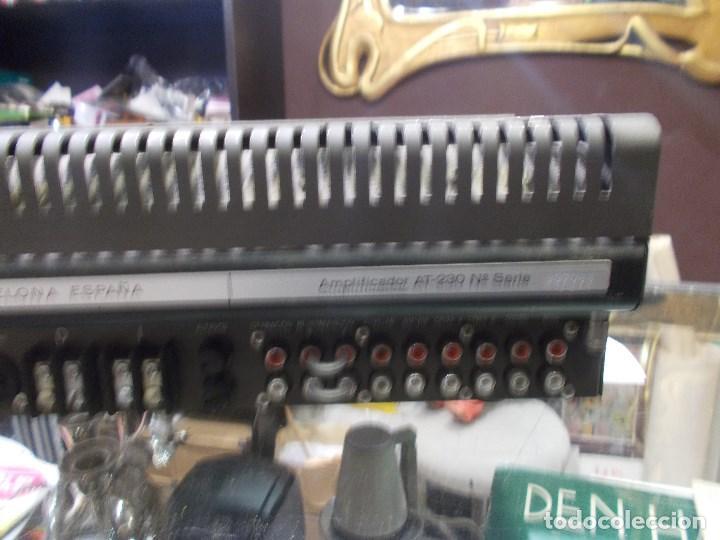 Radios antiguas: AMPLIFICADOR VIETA AT- 230 (G) - Foto 12 - 139088606