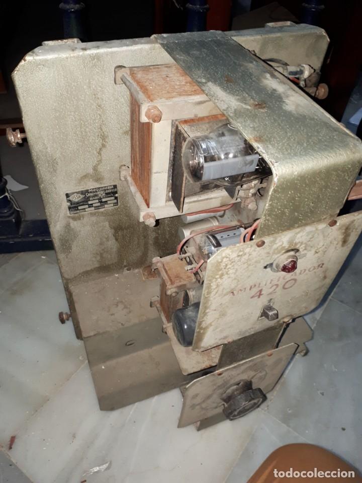 Radios antiguas: Amplificador Cine - Foto 12 - 76887835
