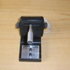 Radios antiguas: MICROFONO CON BASE DE LA MARCA BRIGMTON - PA - 300.. Lote 142214486