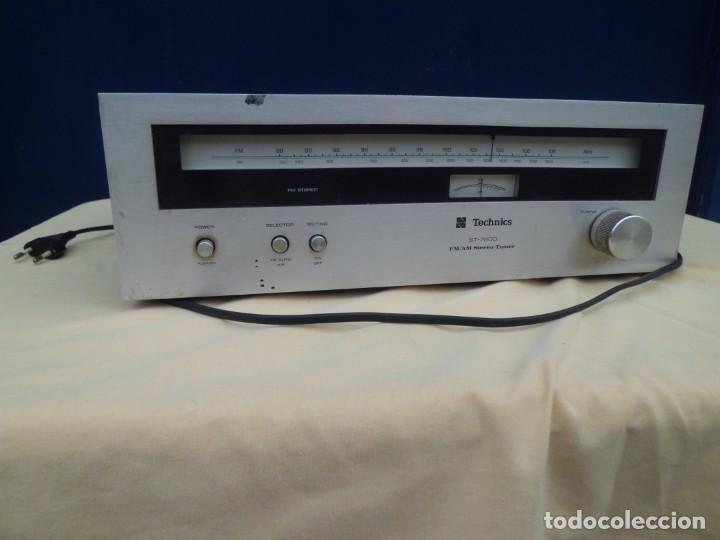 TECHNICS ST-7200 FM STEREO TUNER (Radios, Gramófonos, Grabadoras y Otros - Amplificadores y Micrófonos de Válvulas)