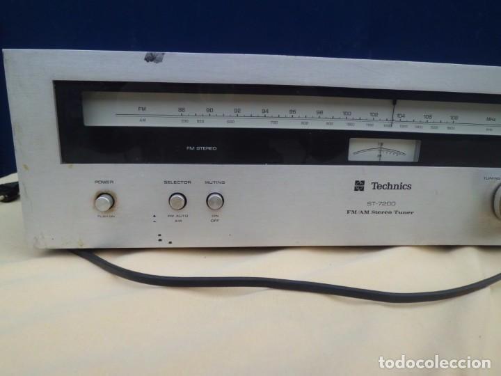 Radios antiguas: TECHNICS ST-7200 FM STEREO TUNER - Foto 3 - 140427034