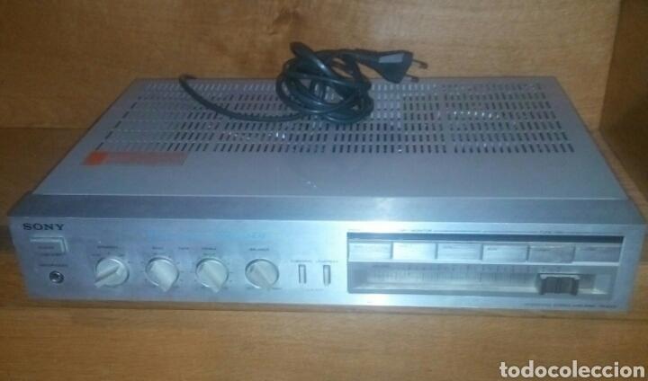 SONY AMPLIFICADOR INTEGRADO TA - AX3 (Radios, Gramófonos, Grabadoras y Otros - Amplificadores y Micrófonos de Válvulas)