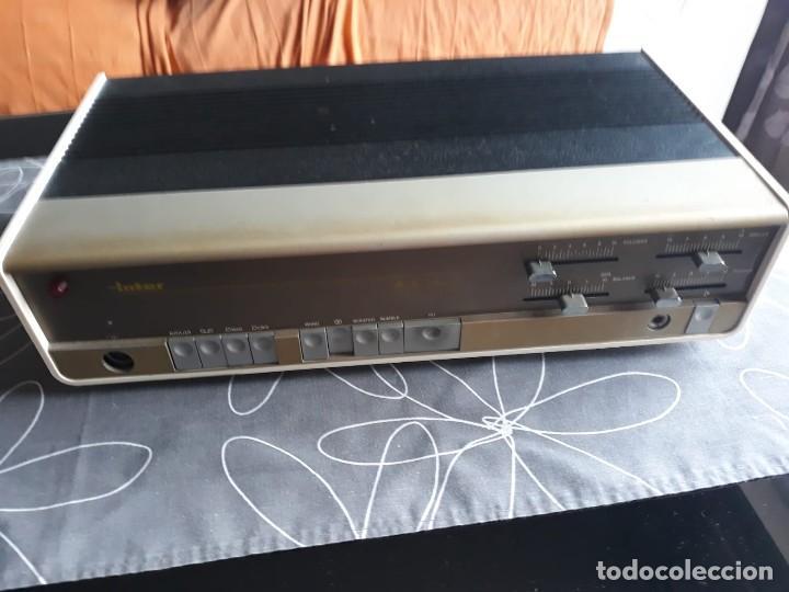AMPLIFICADOR INTER HI FI STEREO 40. AÑOS 70. SIN REVISAR (Radios, Gramófonos, Grabadoras y Otros - Amplificadores y Micrófonos de Válvulas)