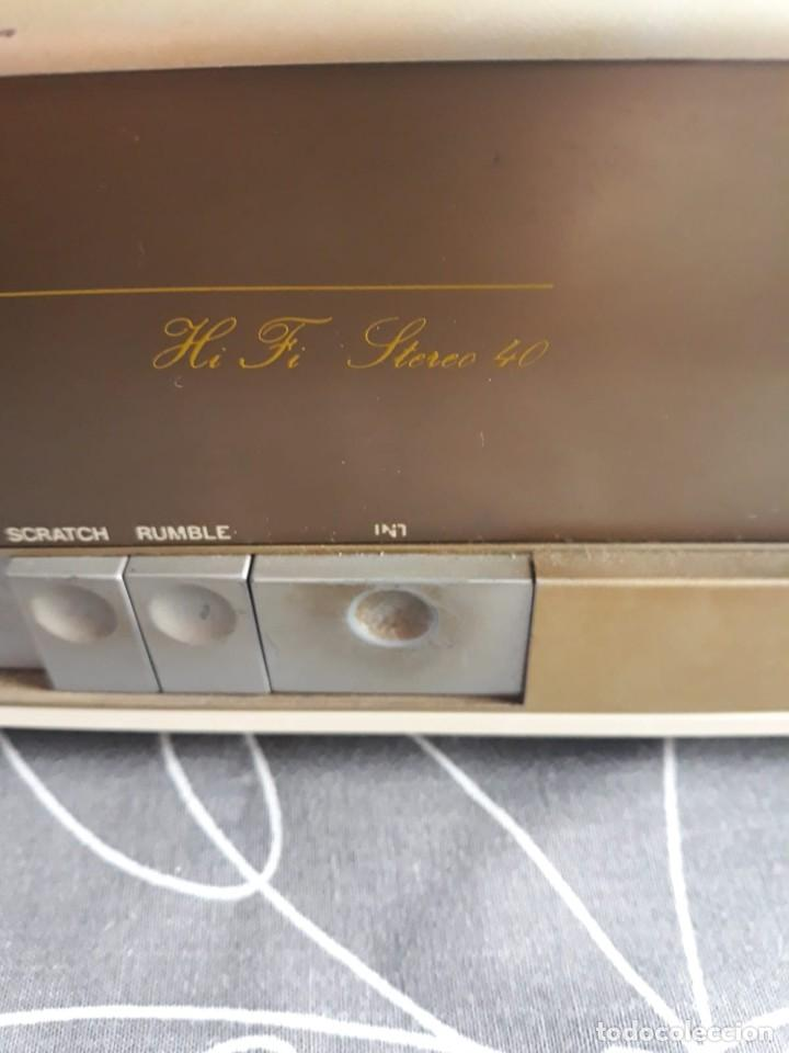 Radios antiguas: Amplificador INTER HI FI STEREO 40. AÑOS 70. SIN REVISAR - Foto 4 - 140565962