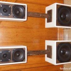 Radios antiguas: ALTAVOCES ARTESANOS DE MADERA. Lote 140610798
